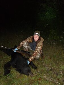 Me with my 2021 trapped bear